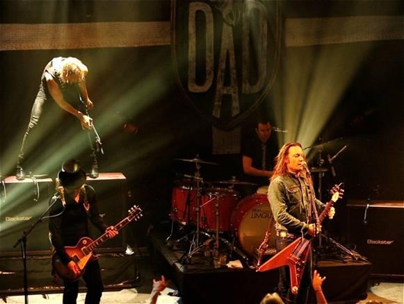D-A-D giver payback koncert i Aarhus