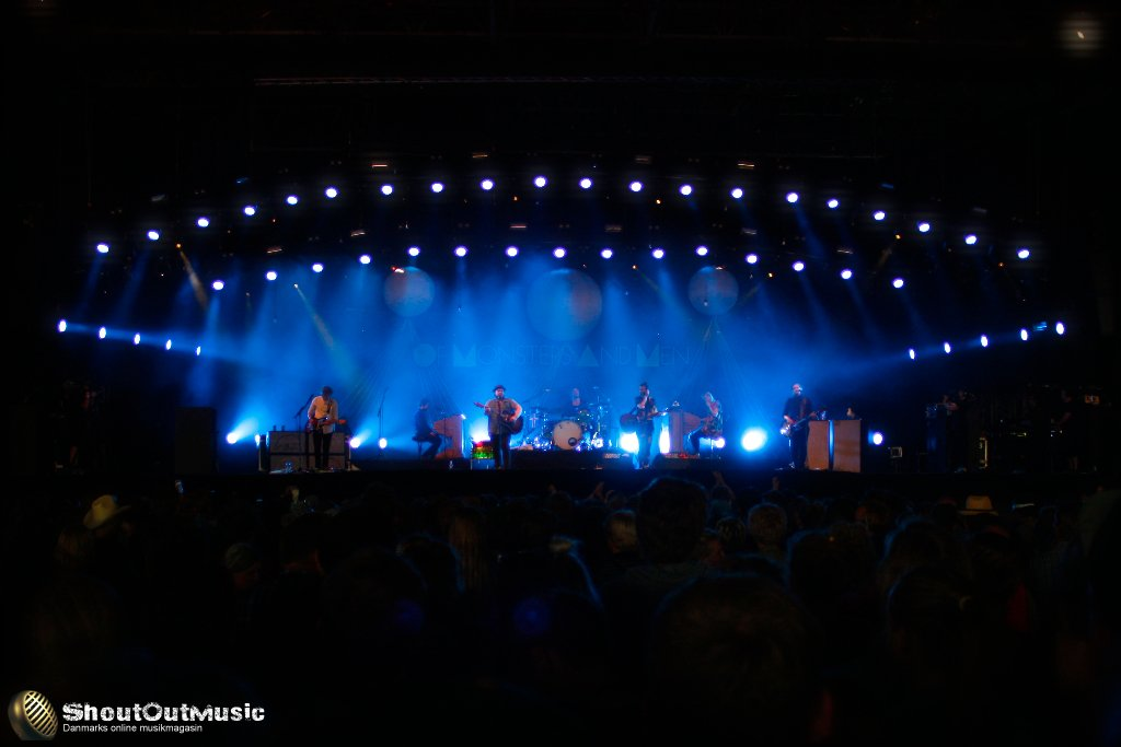 Of Monsters and Men @ Arena, Roskilde Festival