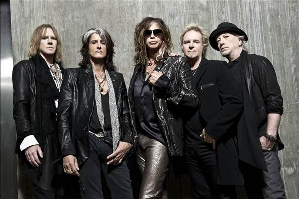 Aerosmith gæster Danmark