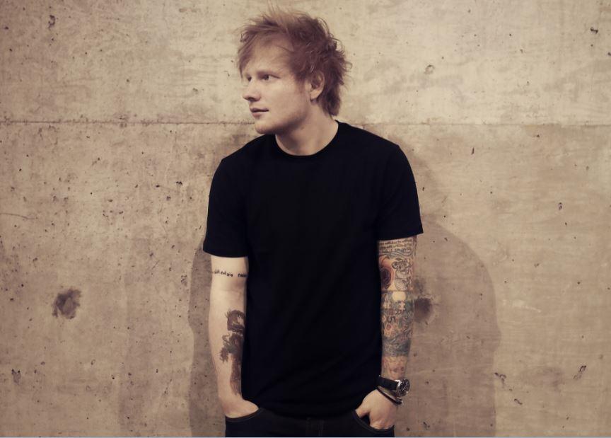 Ed Sheeran til Danmark