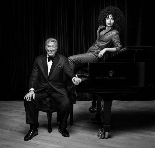 Tony Bennett og Lady Gaga ude med jazzalbum på mandag