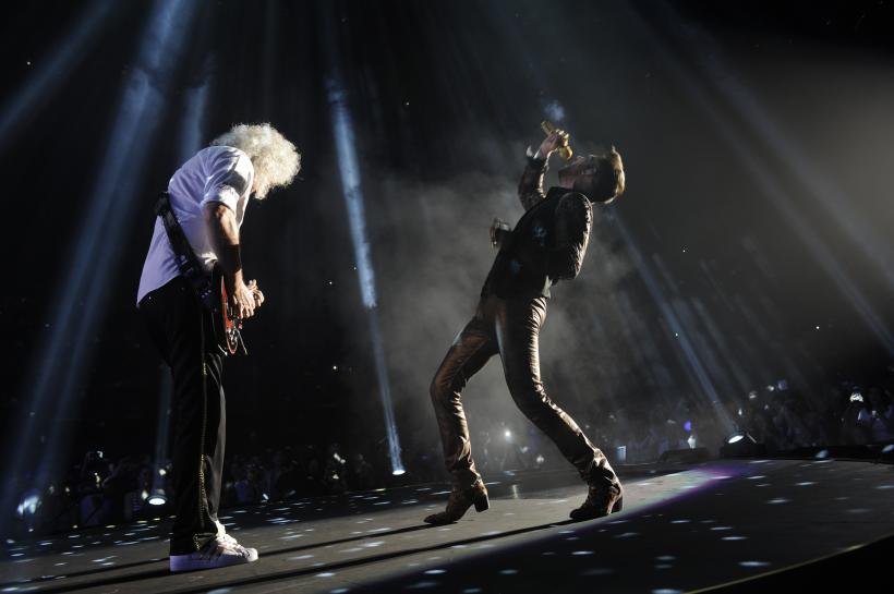 Queen med Adam Lambert giver koncert i Danmark