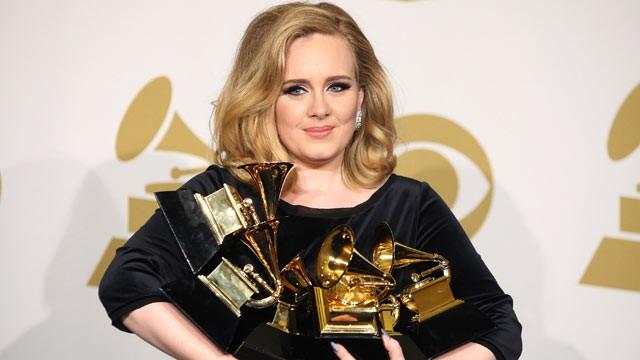 Adele blev den helt store vinder i årets Grammy Awards