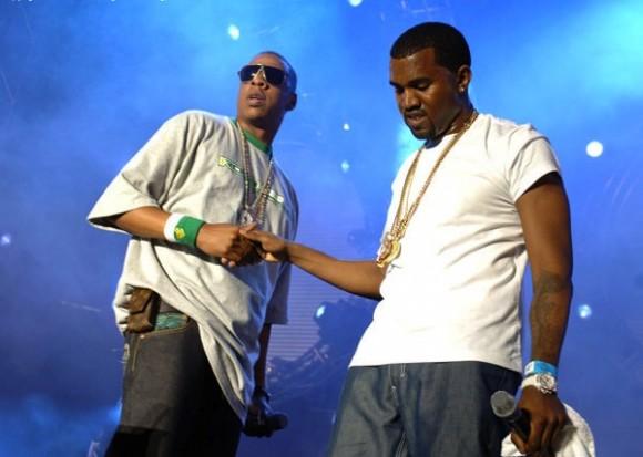 Jay Z og Kanye West