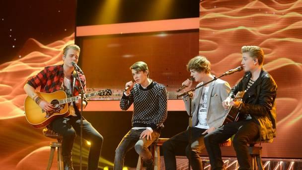 X Factor Finalen 2013: Wasteland fik samme skæbne som One Direction