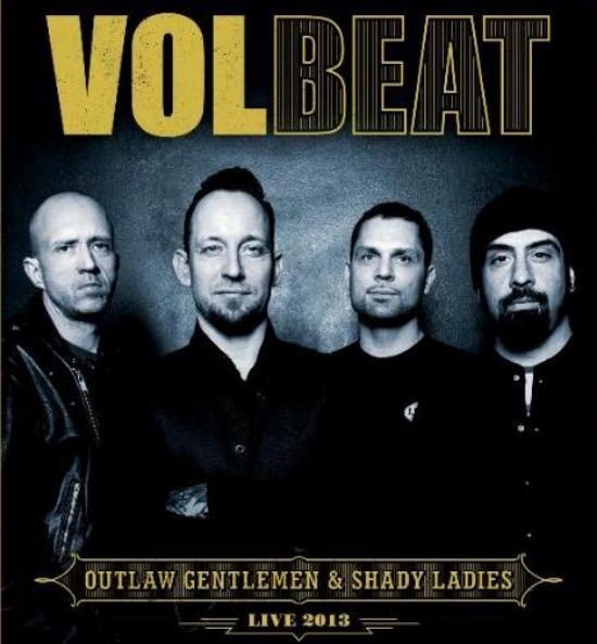 Volbeat spiller i Danmarks to største arenaer