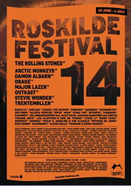 Festival Fokus: Roskilde Festival '14