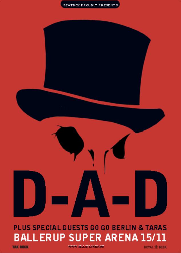 D-A-D slutter året af med et brag af en koncert