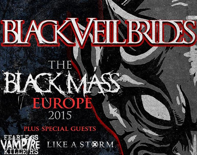 Black Veil Brides klar med supportnavne
