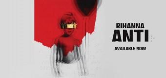 Rihannas nye album, anti, ude nu
