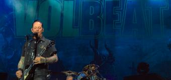 Volbeat spiller to koncerter i Danmark til efteråret